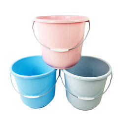 Large Plastic Water Buckets Pail For Sale