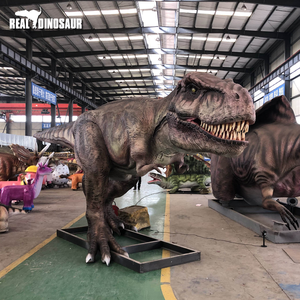 Remote control life size animatronic robot t rex dinosaur for sale
