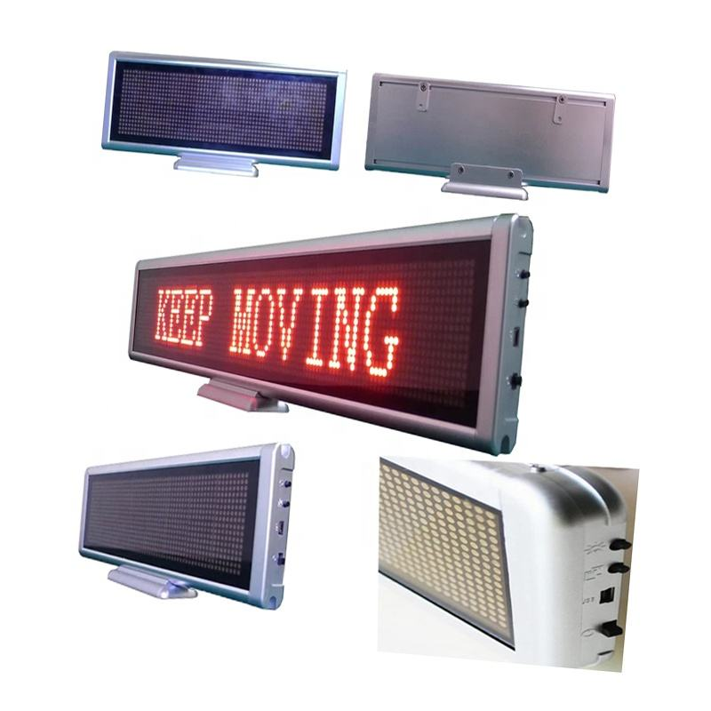 Solar Powered Scrolling Panel Running Display Board Programmable Wifi Digital Led Moving Message Sign