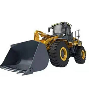 Used wheel loader Liugong CLG856H have nice engine