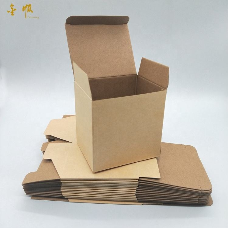 Shipping today brown in stock high-strength rigid corrugated paper packaging camera box