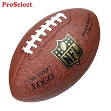 Proselect Official Match Custom Size 9 Leather American Ball Football