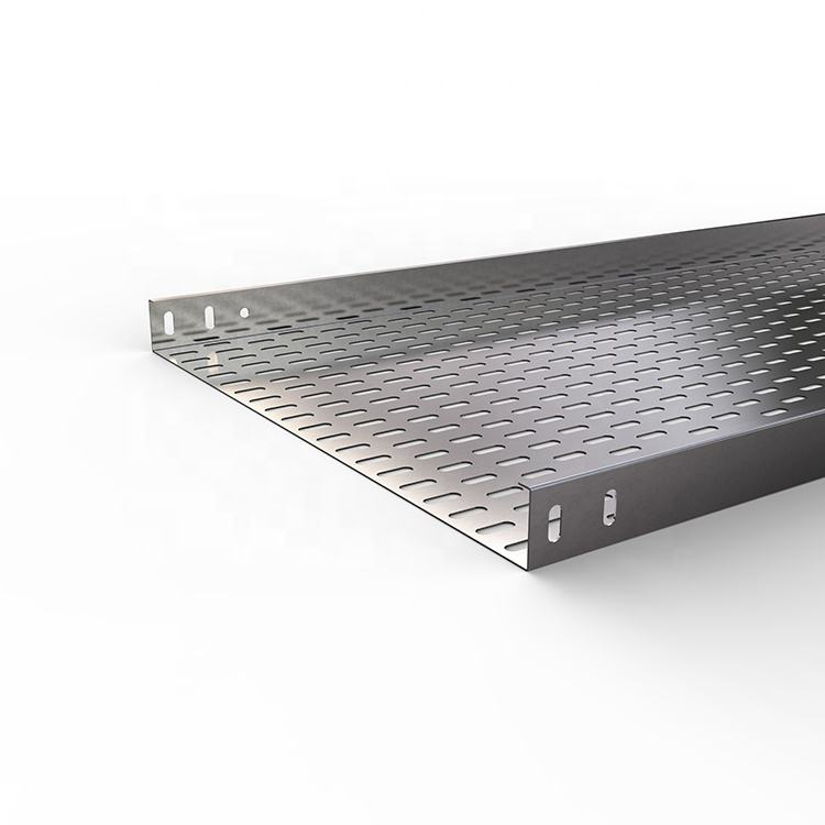 New Products metal Galvanized Perforated Cable Tray discount price 3000x500x50x2.0mm