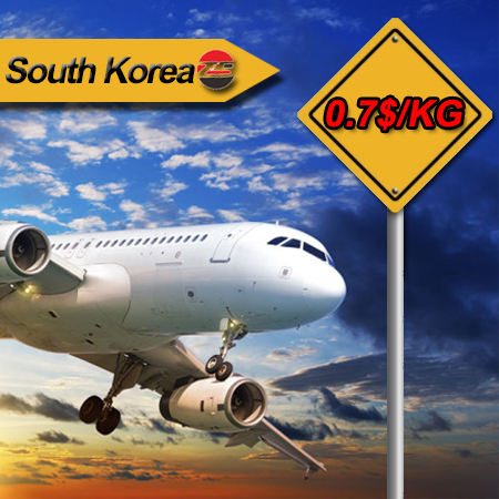 Cash on delivery from china air freight forwarder company/shipping to South Korea