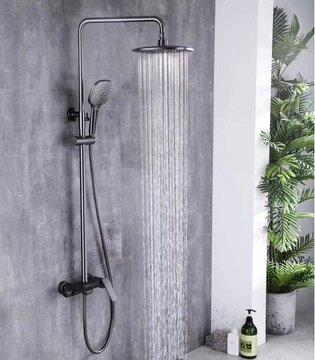 G675 2020 Quality bathroom sanitary shower column rain shower set