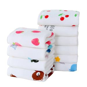 Pure cotton muslin baby long towel wash face towel mother and baby supplies disposable towel