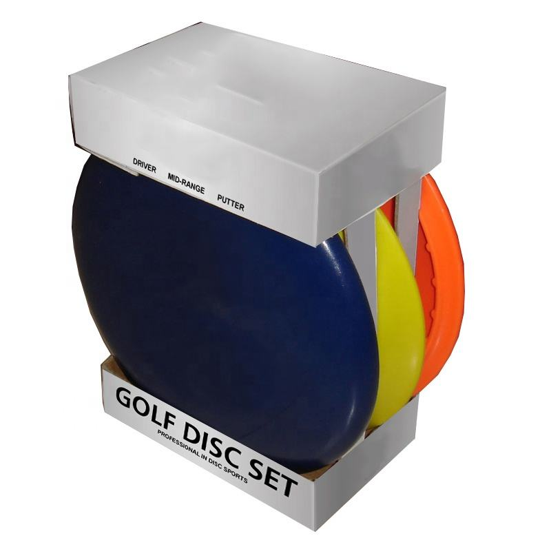 Wholesale High Disc Golf Disc Set with Color Box