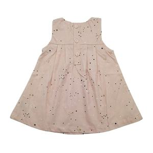 Wholesale custom pure cotton breathable spring and summer 3-24 months party cute baby girl dresses