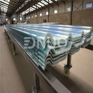 Corrugated roof sheet/frp sheet making machine production line