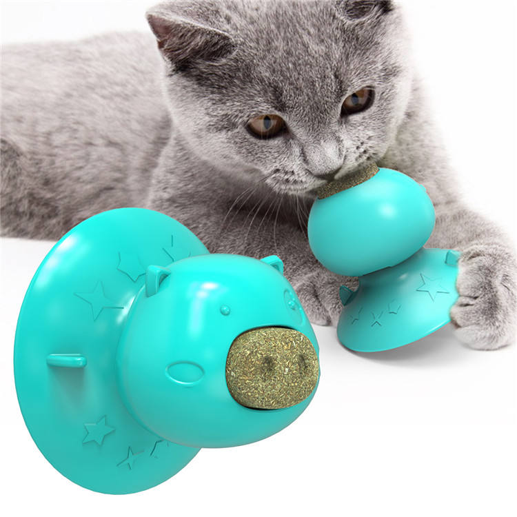 Pet Supplies TPR Plastic Suction Cup Dog Cat Toy Licker Molar Cake Puzzle Bite Resistant Rubber Toy