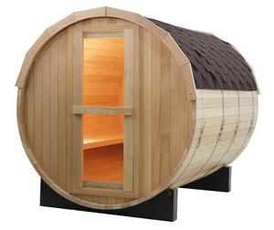 Barrel traditional steam sauna outdoor