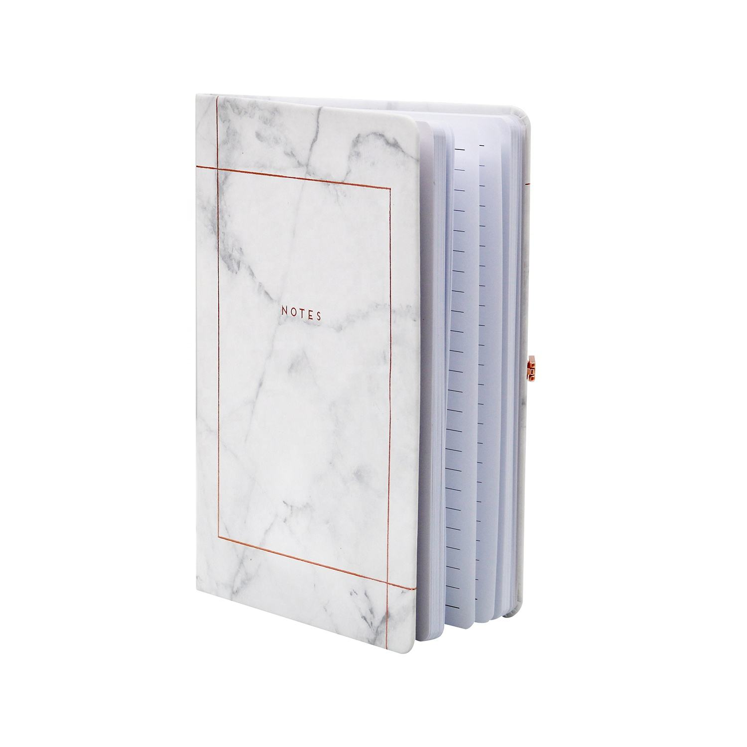Refillable Engineering Grid Writing Journal A5 96 Pages Thick Paper 80 gsm Notebook With Magnetic Buckle
