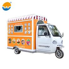 Mobile Coffee Vans Fast Food Serving Trailer