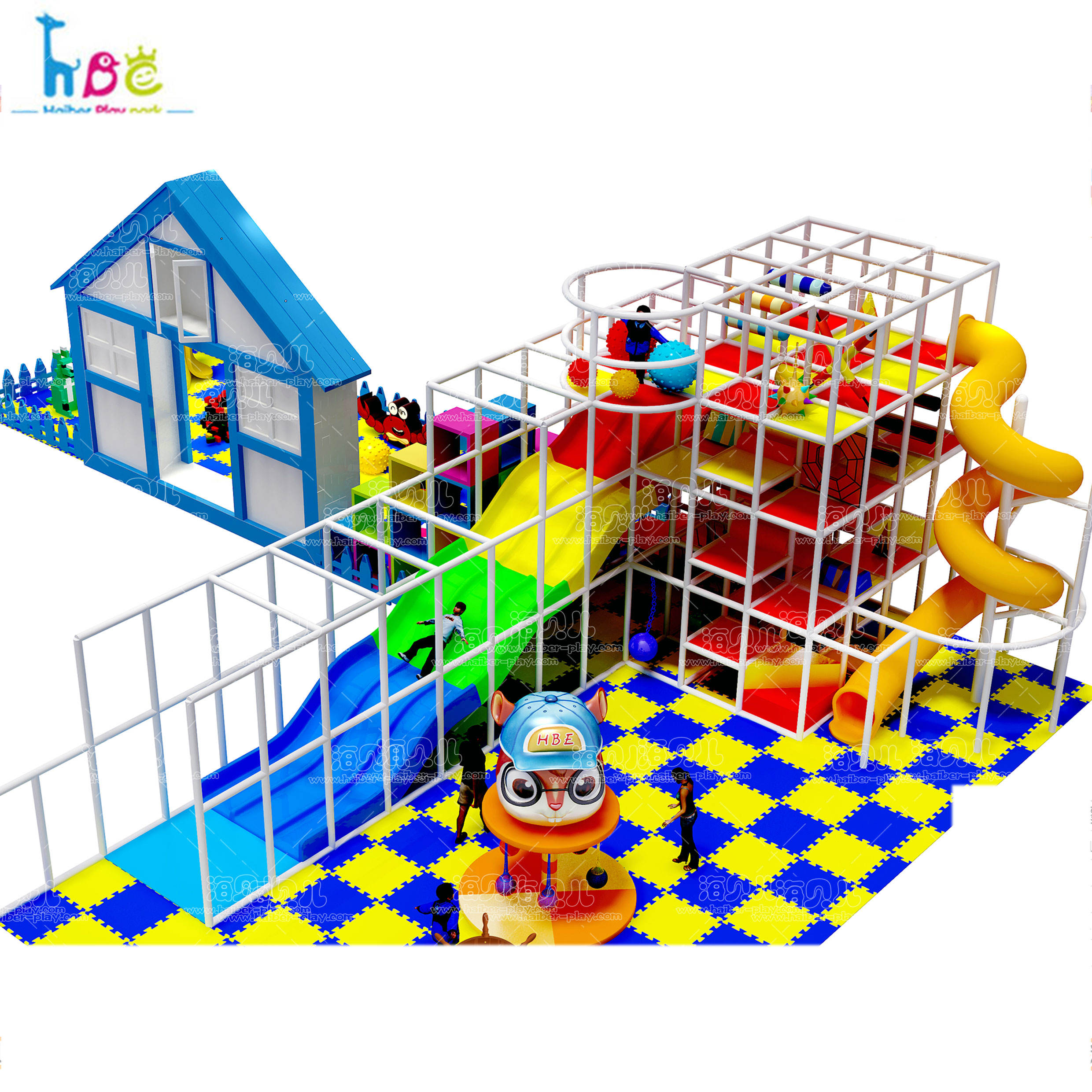 Playground Theme Parks Equipment Children Ground Center Kids Commercial Structure Area Indoor Play Place