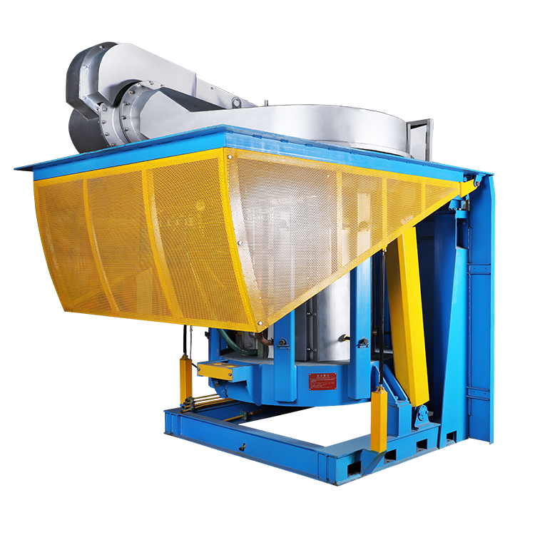 500KG Fast semlting Scrap Iron Melting steel shell Induction Furnace