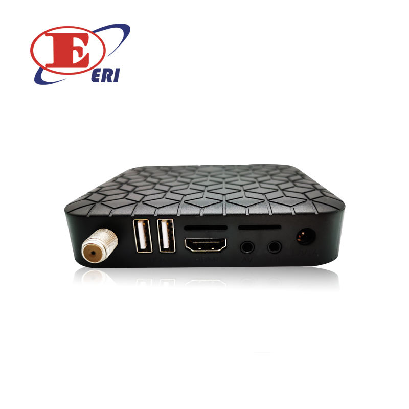 SD MPEG-2 DVB-C ממיר USB 2.0 PVR HD כבל מקלט 500 ערוצים