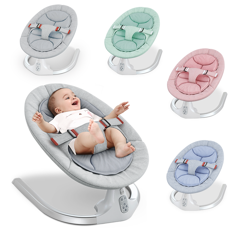 baby swing bouncer baby sleep Electric cradle bed shaking bed automatic rocking chair smart coax baby sleeping bed