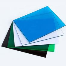 Xinhai Colorful UV layer 100% lexan resin solid polycarbonate panels clear sheets price list