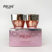 Ailke Dubai Name Best skin care for black women forever superior whitening 2 in 1 ailke face cream day and night