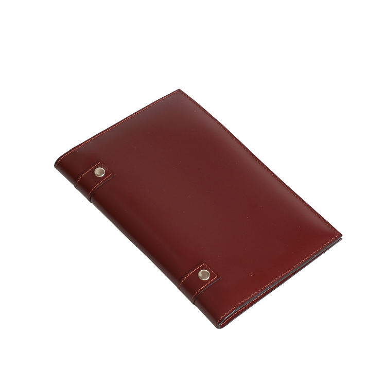 High quality New fashion A5 Size Leather Portfolio
