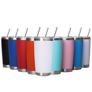 2019 eco friendly sublimation blanks double wall 188 stainless steel vacuum thermos camping car travel tumbler