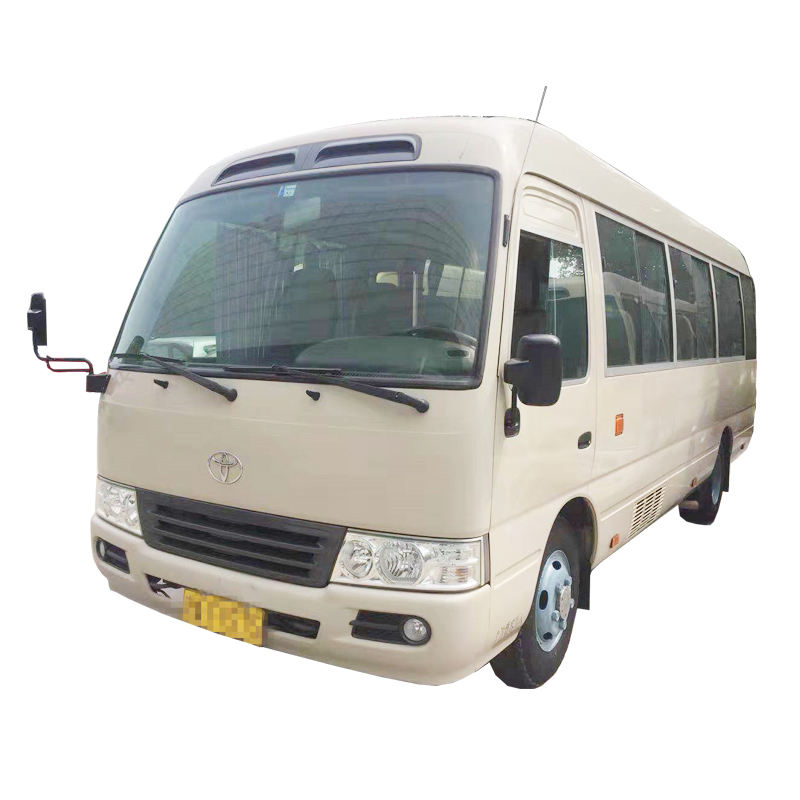 used car toyota coaster second hand minibus left-hand cars in China wholesale and retail used trucks dubai
