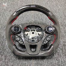 Private custom gloss carbon fiber steering wheel for  smart /Available for all car models