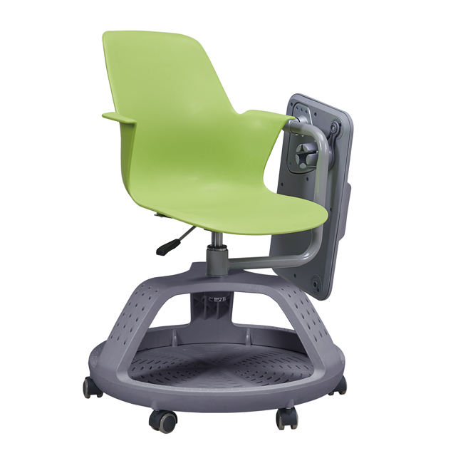 Greenfield Workplace University Classroom Swivel Chair with wheels for Student Node School Furniture Chair