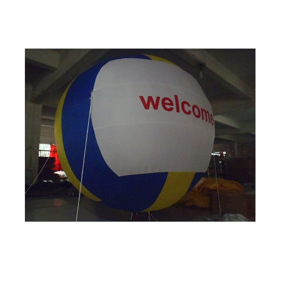 Giant Opblaasbare Volleybal Pvc Reclame Grote Sport Lucht Ballon