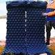 Double Light Hand Pump Self Inflating Camping Hiking Mat, Inflatable Sleeping Mattress/