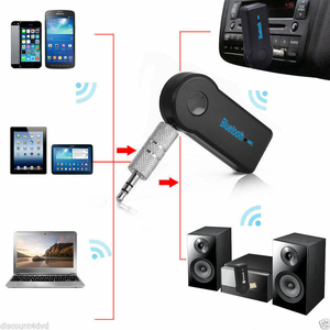 Doonjiey Factory Outlet Mini 3.5mm Wireless Bluetooth Aux Stereo Audio Music Car Adapter Receiver