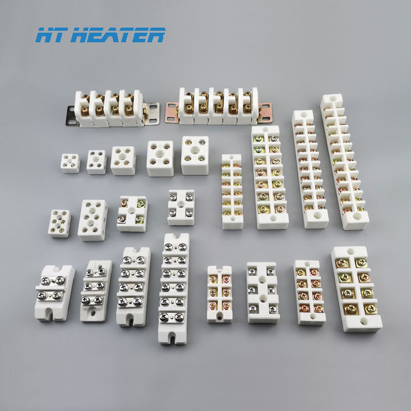 Thermocouple white brass high temperature electrical ceramic terminal block