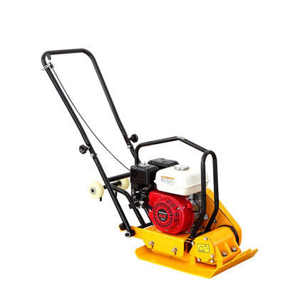 Walk behind concrete vibrating plate compactor