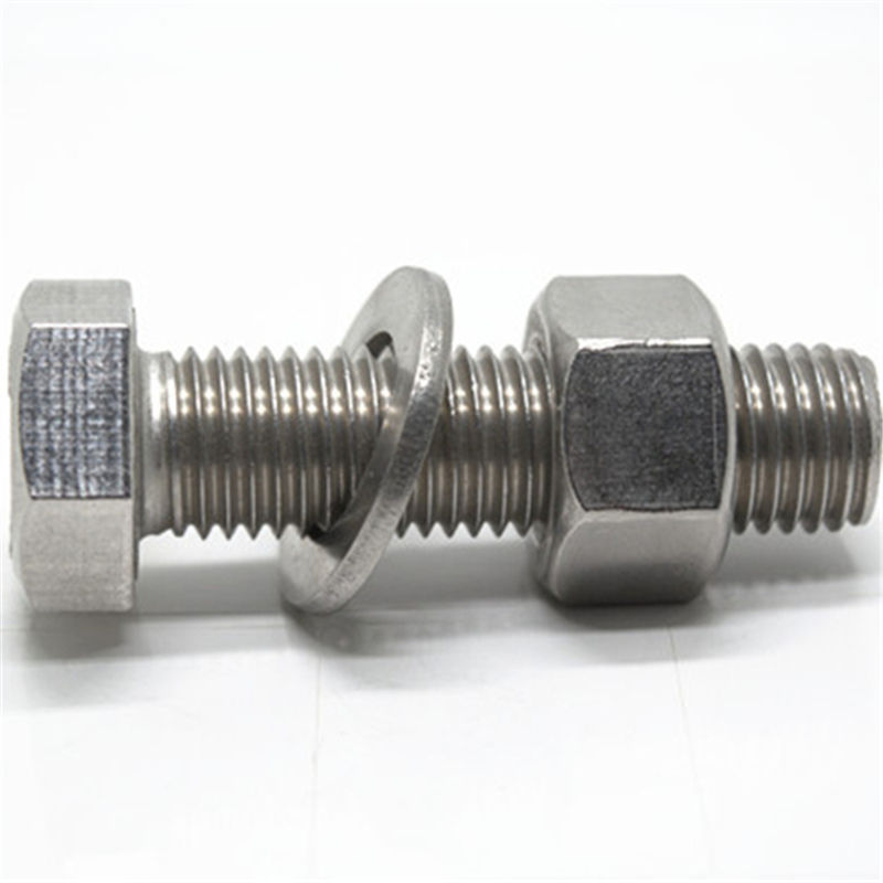 M10 stainless steel 316 bolt and nut