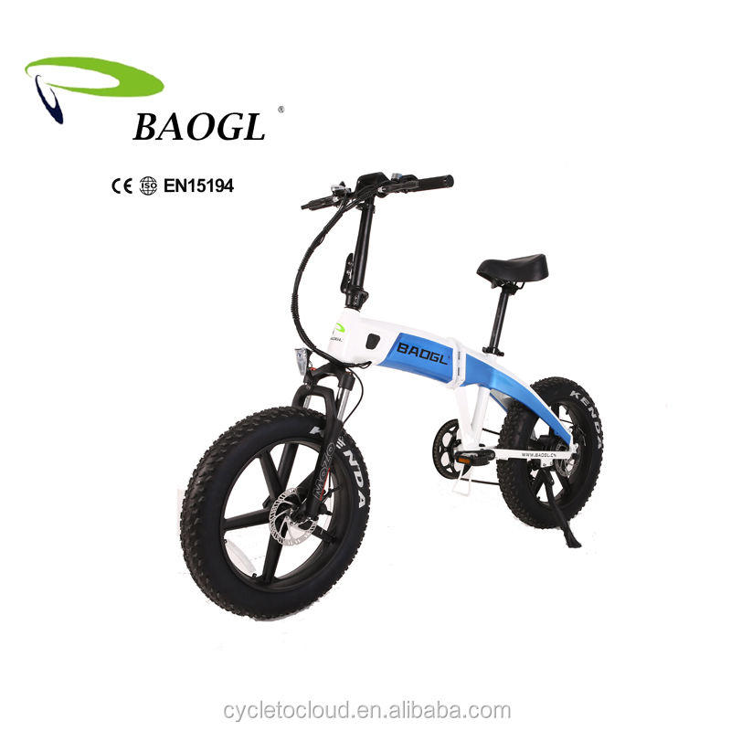 High Quality Foldable Electric Bike Chopper with CE& EN15194