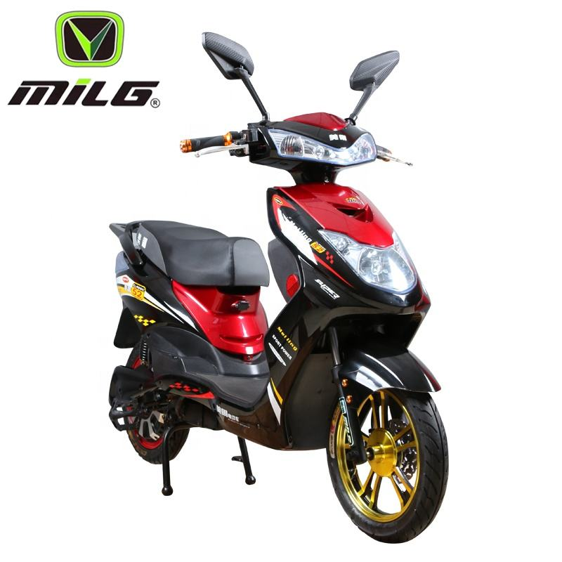 Futengda best supplier 48v 500w electric motorcycle with pedals moped