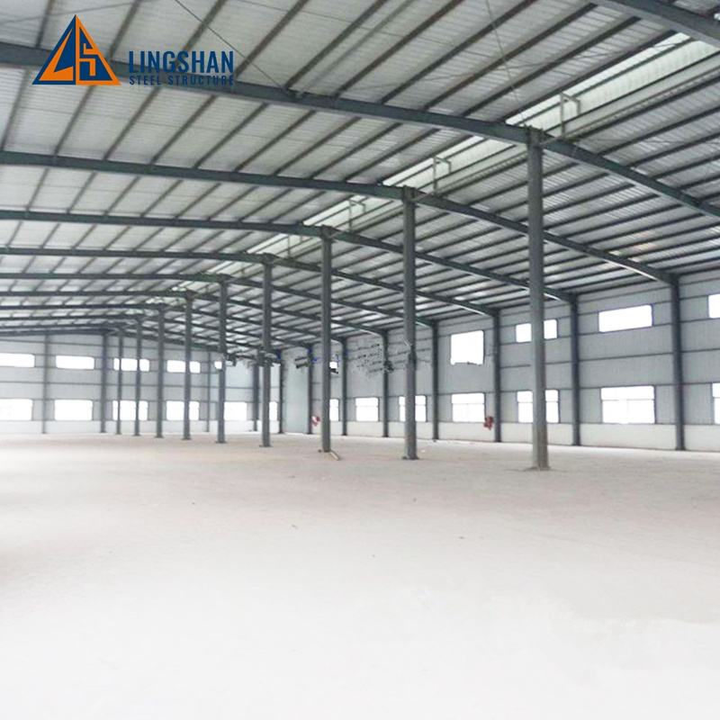 Low Price Prefabricated Steel Structure Warehouse / Shed Building Design