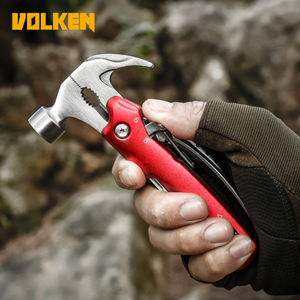 Outdoor Camping เครื่องมือ All-in-one ขี่เครื่องมือ Survival Gear Multifunctional Claw HAMMER