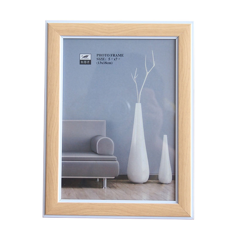 Stock Frame Plastic Photo Frame Double Color PVC Picture Frames For Home Decor