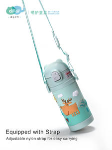 Stainless steel vacuum child children thermos flask bottle for children