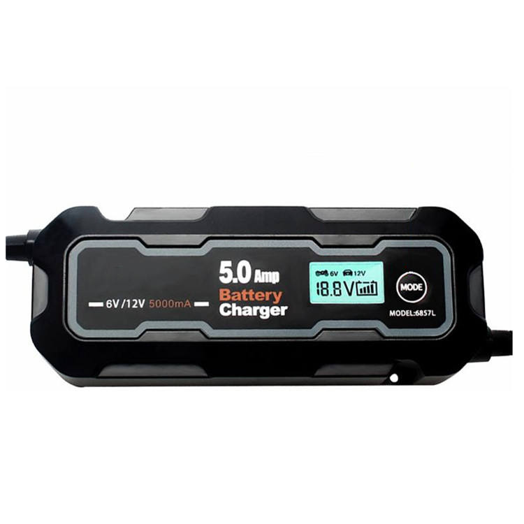 Automatic Battery Chargers 12A 5Ah For Household Cars, Toy Cars, Lawn Mowers, etc.