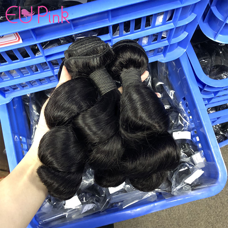 Dropship Natural hair products Free Shipping Cheap Price 9A Grade Mink lose brazilian loose wave