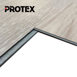Protex anti-scratch durable vinyl spc floor covering for kitchen