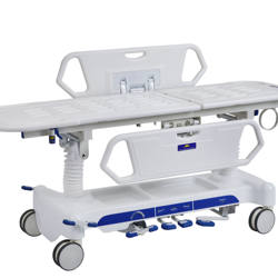 patient trolley stretcher medical equipment  emergency trolley bed