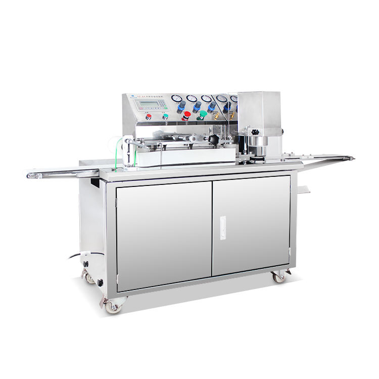 Automatic Encrusting Lowest price filled cookies/moon cake/moon cake arranging machine