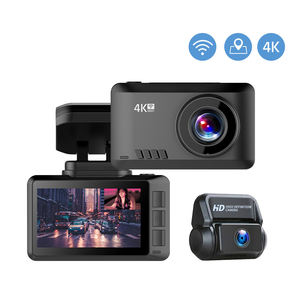 4K çizgi kam hareket fotoğraf WiFi araba kamera Dashcam 3840*2160P 30FPS Ultra HD DVR Video kaydedici GPS Tracker Dashcam
