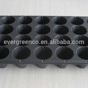 21 32 50 72 98 105 128 200 288 Cells PS Plastic Plug Seed Starting Grow Germination Tray for Greenhouse