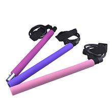 TPE Pilates Exercise Yoga Stick With Resistance Band