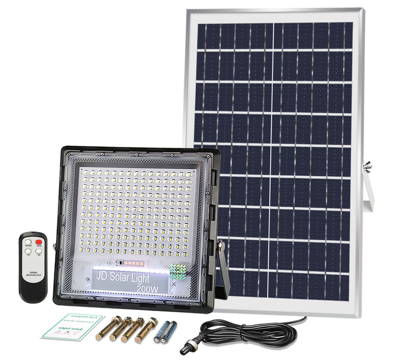 Memancing Perahu LED Sensor Solar Flood Light 200 Watt