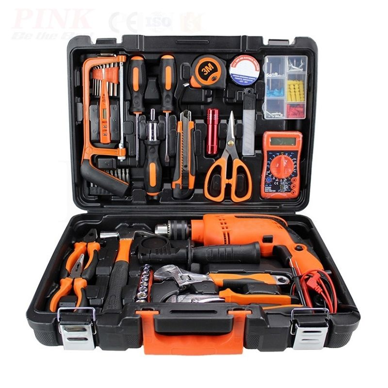 Drill Power Tools Set